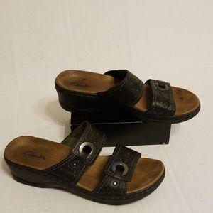 Clarks sandals women's shoes size 8